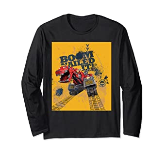 a06c20373 Amazon.com: DreamWorks DinoTrux - Ty Rux Boom Nailed It Action Shirt ...