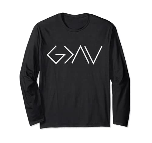 God Is Greater Than Our Highs And Our Lows Know Him Long Sleeve T Shirt