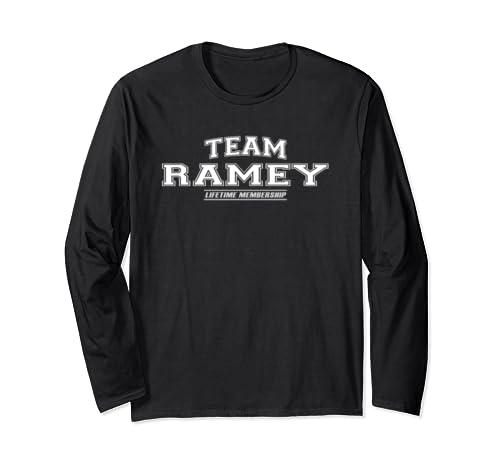 Team Ramey   Proud Family Surname, Last Name Gift Long Sleeve T Shirt