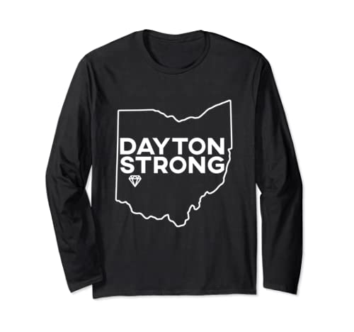 Dayton Ohio Strong Support Long Sleeve T Shirt