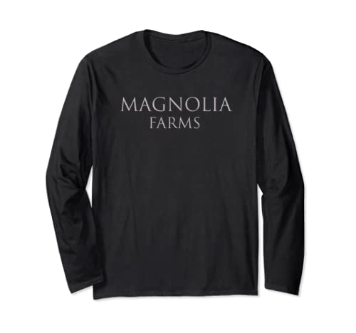 Magnolia Farms Womens T Shirt  Long Sleeve T Shirt