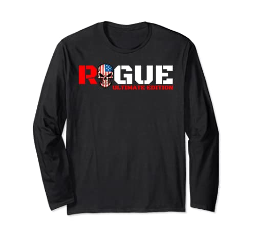 Armed Forces Rogue Warrior Bad Boy Gaming Military Tough Guy Long Sleeve T Shirt
