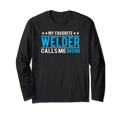 Mother's Day Gifts   Funny Welder Mom Long Sleeve T Shirt