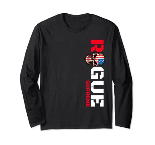 Armed Forces Rogue Warrior Military Army Soldier Tough Guy Long Sleeve T Shirt