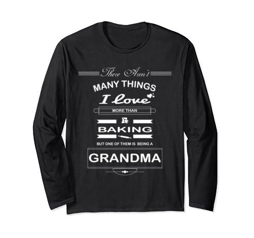 Baking Grandma Long Sleeve