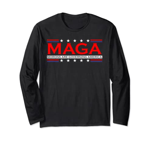 Maga 2020 Election Campaign Anti Trump 86 45 Dump Trump Long Sleeve T Shirt