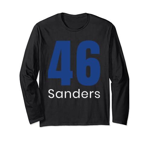 Bernie Sanders: 46 46th U.S. President Election 2020 Liberal Long Sleeve T Shirt