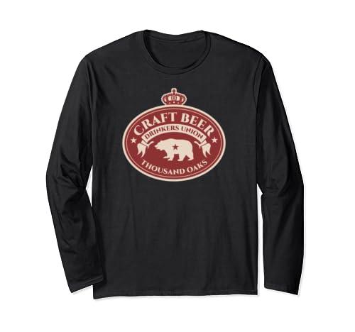 Craft Beer Drinkers Union   Thousand Oaks California Long Sleeve T Shirt
