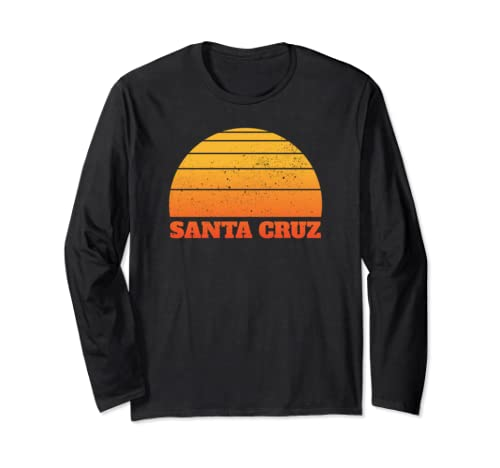 Santa Cruz Vintage Retro Sunset Long Sleeve T Shirt
