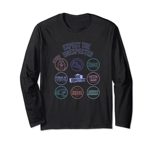 Big Brother Logo Mash Up Long Sleeve T Shirt