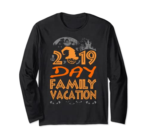 2019 Day Family Vacation Halloween Gift Long Sleeve T Shirt