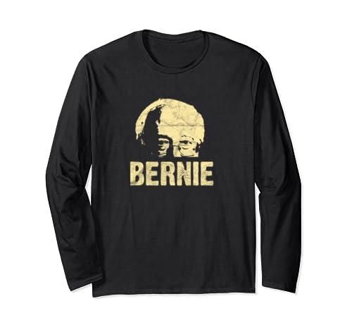 Bernie Sanders 2020 President Birdie Feel The Bern Vintage Long Sleeve T Shirt