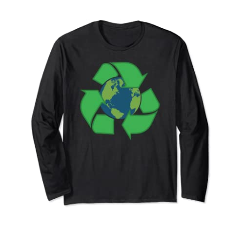 Earth Recycle Novelty Earth Day Recycle Earth Long Sleeve T Shirt