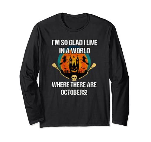 October Lovers   Cute Halloween Long Sleeve T Shirt
