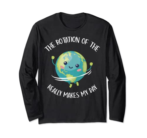 Science Teacher Shirt Earth Day T Shirt Teach Appreciation  Long Sleeve T Shirt