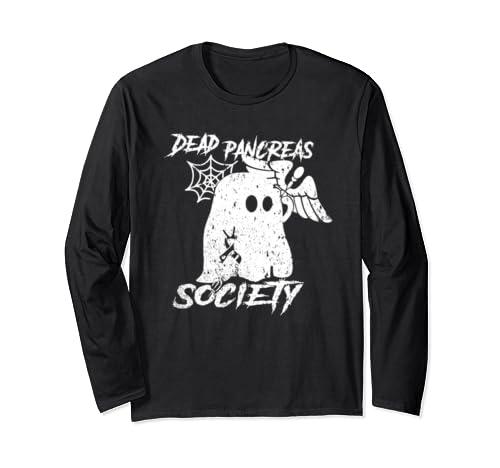 Dead Pancreas Society Halloween Custome 2019 Long Sleeve T Shirt