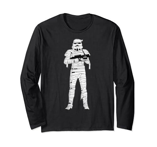 Star Wars Storm Trooper Mummy Poster Long Sleeve T Shirt