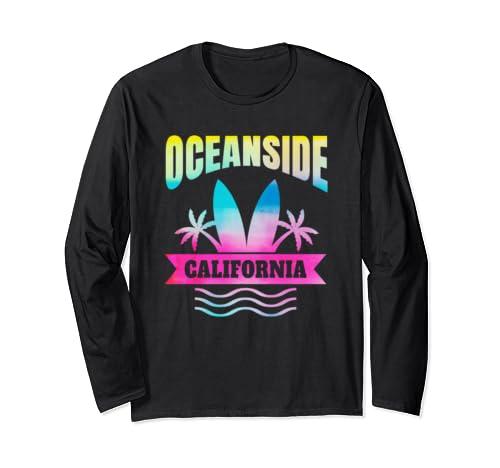 Oceanside Beach California Family Vacation Long Sleeve T Shirt