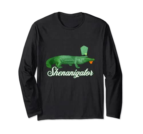 Shenanigator Funny Saint Patrick's Day Party Gift Long Sleeve T Shirt