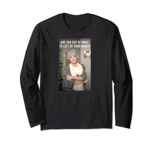 The Golden Girls Dorothy Sass Long Sleeve T Shirt