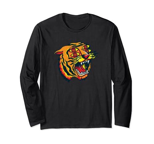 Souvenir Tiger Mens Womens Childrens Best Streetwear Bangel Long Sleeve T Shirt