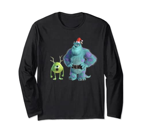 Disney Pixar Monsters, Inc. Mike And Sulley Holiday Long Sleeve T Shirt