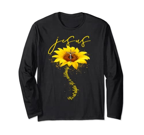 It's Not A Religion It's A Relationship Sunflower Gift Long Sleeve T Shirt