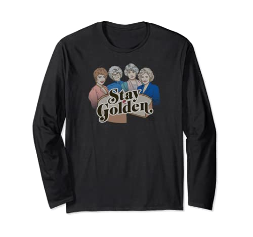 The Golden Girls Stay Golden Cheesecake Long Sleeve T Shirt