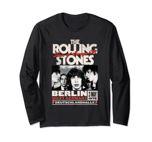 The Rolling Stones Berlin 76 Long Sleeve T Shirt