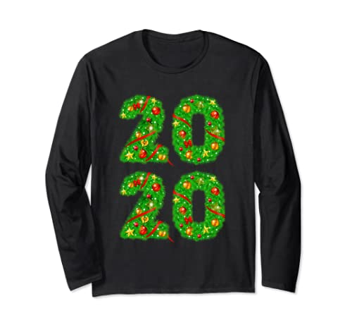 New Year 2020   Happy New Year   Happy Holidays Long Sleeve T Shirt