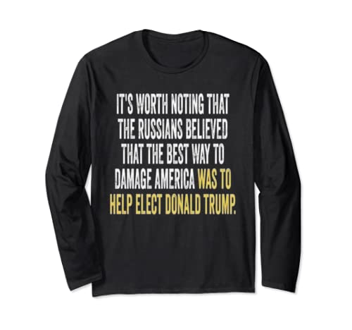 Anti Donald Trump 2020 Gift Long Sleeve T Shirt
