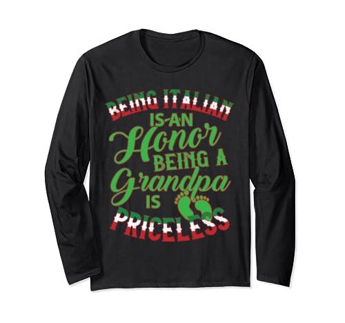Italian Grandpa Long Sleeve T Shirt