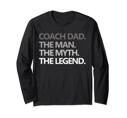 1978ef8b Coach Dad The Man Myth Legend Shirt Father's Day Gift Funny