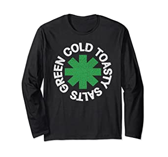 Green Cold Toasty Salts GCTS Red Hot Chili Peppers RHCP Long Sleeve T-shirt