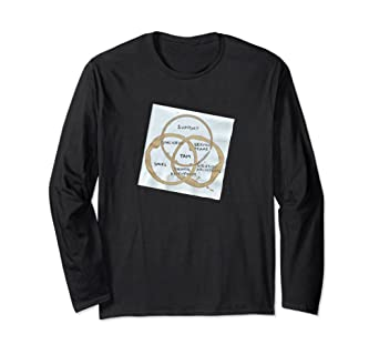 TAM Vinn Diagram Napkin Long Sleeve T-Shirt