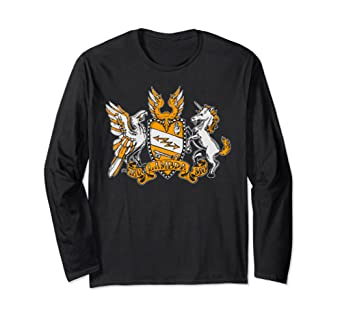 Tau Lambda Mu TAM Crest Long Sleeve T-Shirt
