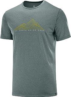 [サロモン] Tシャツ Agile Graphic TEE Men (アジャイル グラフィック ティー メンズ)