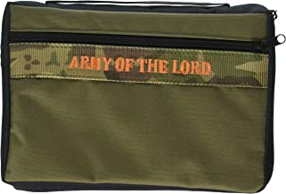 Enesco WECOV Army of The Lord X Bible Cover, Multicolor