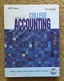 College Accounting (Ch 1-12)(W/CD) 5th