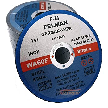 """400pc 115mm 4.5/"""" ULTRA THIN METAL CUTTING DISC 1//2/"""" STEEL /& STAINLESS  DEFENDER"""