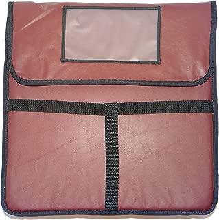 Phoenix 45.72 厘米 x 45.72 厘米比萨送货包,*红色