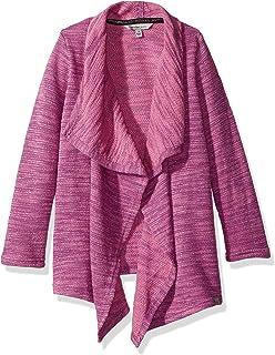 Calvin Klein Big Girls' Marled Knit Cardigan