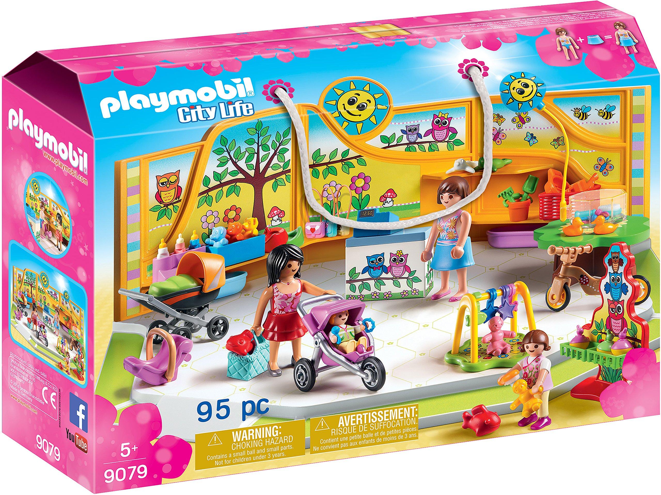 PLAYMOBIL City Life Tienda para Bebés, a Partir de 5 Años (9079 ...