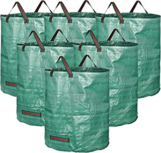 GardenMate 6-Pack 72 Gallons Reusable Garden Waste Bags (H30, D26 inches) - Yard Waste Bags