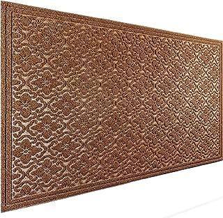 MAT 7-BANQUET Outdoor Door Mat for Front Door 36 x 59 inch Welcome Mat Debris Mud Trapper Outside Rubber Floor Mat Rug Lar...