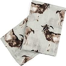 Milkbarn Organic Cotton Burp Cloths (2 pack)