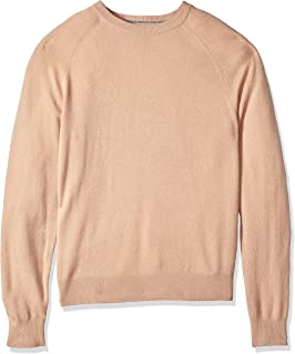 Buttoned Down Men's 100% Cashmere Crewneck Sweater