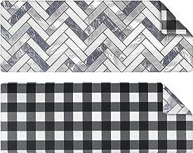 OPUX Anti Fatigue Kitchen Floor Mat, Reversible Cushioned Memory Foam Kitchen Rug Pad, Waterproof Non-Slip Padded Comfort ...