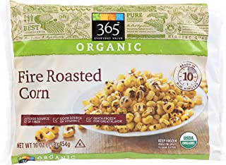 365 Everyday Value, Organic Fire Roasted Corn, 16 oz, (Frozen)