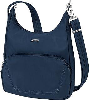 Travelon Anti-Theft Classic Essential Messenger Bag, Midnight (Blue) - 42457 360